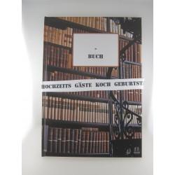 """Eintragebuch """"Bibliothek"""""""