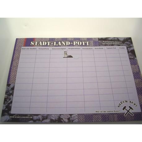 Stadt-Land-Pott, das Spiel