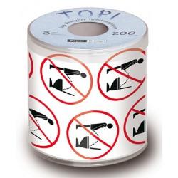 Toilettenpapier mit Herz