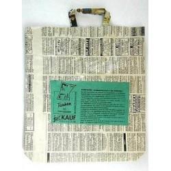 Taschen aus Zeitungspapier